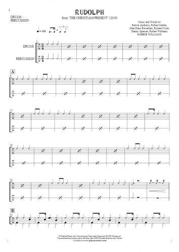 Rudolph - Noten für Schlagzeug und Perkussion Instrumente