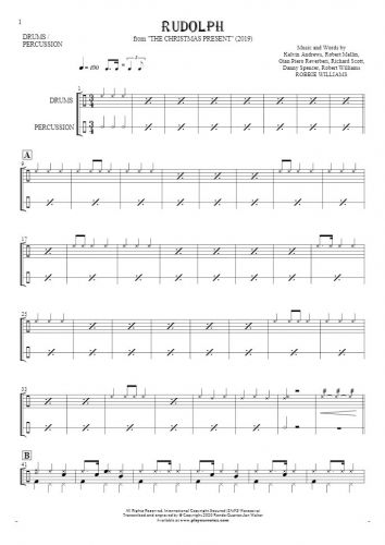 Rudolph - Nuty na perkusję i instrumenty perkusyjne