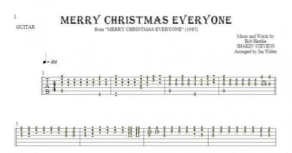 Merry Christmas Everyone Shakin Stevens MIDI File