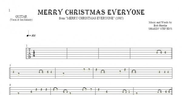 Merry Christmas Everyone (Shakin Stevens) Jon Kutner